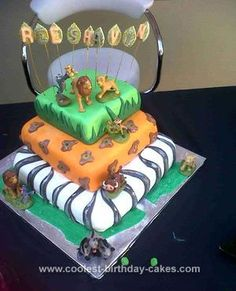 Cakes by Bekah Lion King cake for first birthday Cake