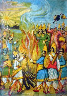 Indian Epics: Images and PDE Epics: Images: Mahabharata