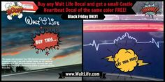 Walt Life Black Friday BOGO Sale! No coupon necessary!