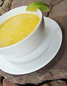 Spicy Mango Ginger Soup Recipe (Raw, Vegan, Gluten-free)