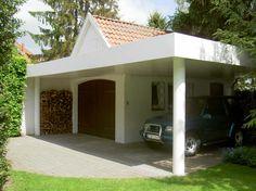 small carports | Carport mit Blende aus beschichtetemAluminium