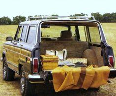 seersucker & magnolias  old jeep wagoneer