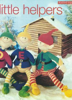 ALAN DART SANTA'S LITTLE HELPERS ELF KNITTING PATTERN DK | eBay