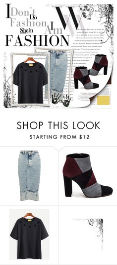 """Shein"" by luca155 ❤ liked on Polyvore featuring Balenciaga, Bassike and Roberto Festa"