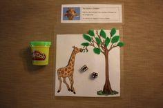Giraffee Busy Bag