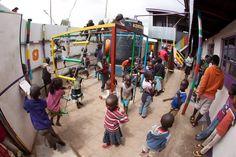 Local kids in #Kibera enjoying some playtime.