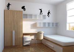 Minimalist kids bedroom designs ideas on add budget 54 - Needless to say, it will be contingent on how well the shades' design and style match your house decor. As soon as you have decided upon your color, y. Stylish Bedroom, Modern Bedroom, Bedroom Decor, Bedroom Furniture, Calm Bedroom, Gray Bedroom, Furniture Design, Outdoor Furniture, Minimalist Kids