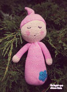 Soneca Amigurumi doll