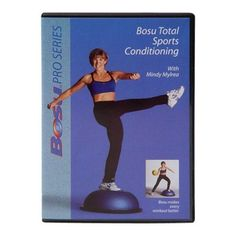 Bosu Total Sports Conditioning DVD with Mindy Mylrea - 72-10861-3DF-1P