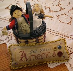 America - a freebie from The Nebby Needle