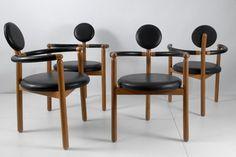 Vico Magistretti Pan armchairs, 1978 #furnituredesign #italian #jpwarreninteriors