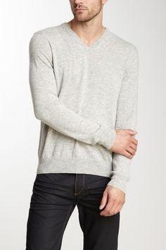 Cullen V-Neck Cashmere Sweater