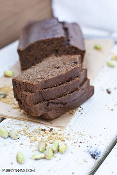 Vegan Banana Maca Nut Bread Recipe | paleo | Pinterest | Bananas ...