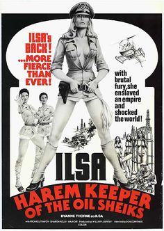 ILSA HAREM KEEPER OF THE OIL SHEIKS POSTER, 1976