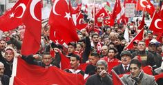 """Muslims March in Germany Chanting """"With Allah's Help, We Shall Conquer You"""" (VIDEO)"""
