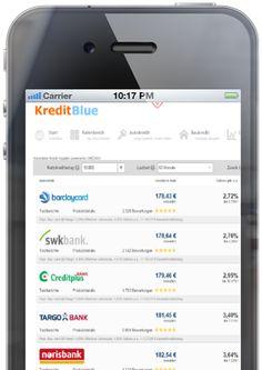 KreditBlue Kredit- und Zinsvergleich » KreditBlue