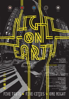 Night on Earth » #poster #color
