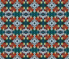 Red and Blue fabric by elizabeth_schowachert on Spoonflower - custom fabric