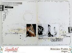Készül a decemberi albumunk - punkrose. Maneki Neko, Make Me Happy, December, Scrapbook, Journal, Creative, How To Make, Blog, Layout
