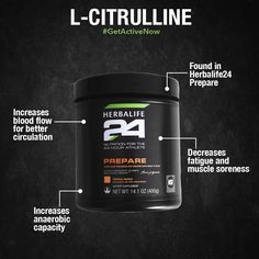 During high-intensity exercises, the L-Citrulline, in Prepare, release anaerobic capacity. This helps your body use energy efficiently without oxygen. Herbalife Recipes, Herbalife 24, Herbalife Nutrition, Herbalife Quotes, Herbalife Products, Herbalife Motivation, Lemon Health Benefits, Cold Home Remedies