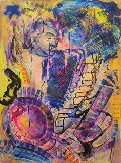 Saxin' Jazz Home Art, Jazz, Gallery, Painting, Paintings, Jazz Music, Draw, Drawings