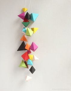 Origami 'Bipyramid' Tutorial & What To Do With Them