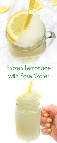 Frozen Lemonade with