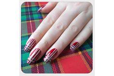 A Tartan Fairy Tale #manicure