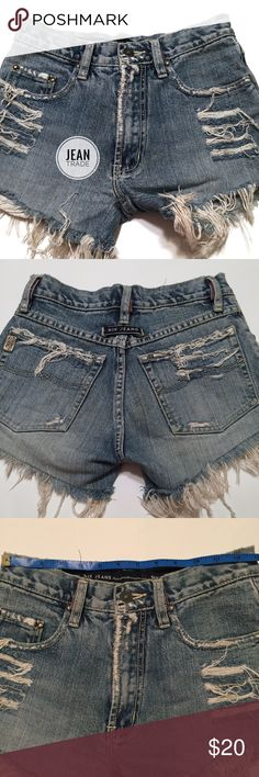 🌴Nix Distressed Jean Shorts Nix Distressed Jean Shorts - See Photo to verify size  - F26 🌴EUC Nix Jeans Shorts Jean Shorts