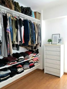 DIY: vestidor low cost | Decoración