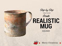 How to create a hyper-realistic mug in Blender (step by step instructions)