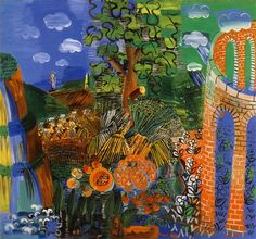Cave to Canvas, Composition - Raoul Dufy, 1926