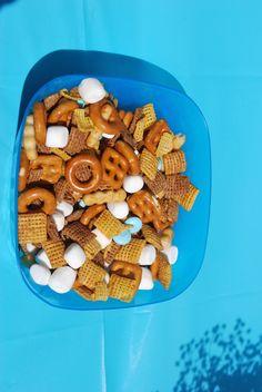 Frozen snack mix!
