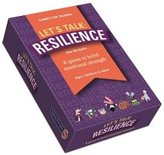 Let's Talk: Resilience are cards to improve communication and confidence. To understand more about resilience, these cards help to develop resilience skills and look at how to use different strategies to be resilient in difficult situations. https://www.speechmark.net/