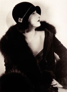 1920's Greta Garbo  ~  She became known as the Black Garbo, a reference to white film actress Greta Garbo.