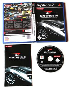 Enthusia - Professional Racing für Playstation 2 in OVP!