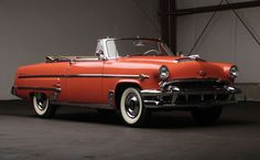 1954 Monarch Lucerne Convertible (Canadian Ford)                                                                                                                                                                                 More