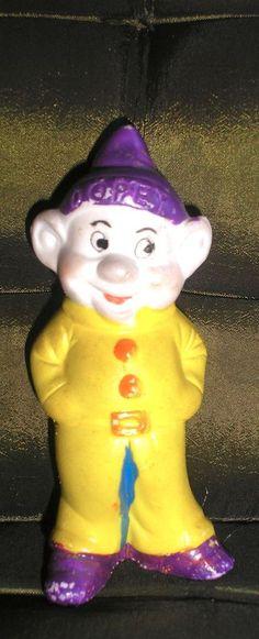 Disney Snow White & 7 Dwarfs 1938 Bisque Figurine Dopey Made in Japan