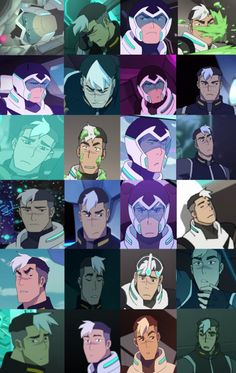Wow, I never realized how strong Shiro's eyebrow game is.