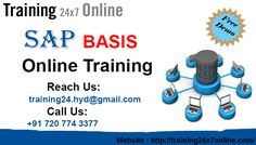 Training24x7online offers SAP BASIS Online Training.  http://training24x7online.com/courses/sap-technical-modules/sap-basis-online-training.html  REACH US : +91 720 774 3377 / training24.hyd@gmail.com  Training24x7online offers #SAP #BASIS.Our #trainers has vast work experience in the respective field. The scope of our #training is to deliver good subjective knowledge & assess the #experience of practical knowledge on the #subject with #realtime implementation examples.