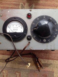 Vintage Superior Electric PowerStat With Triplet Gauge Model 331 – S    eBay