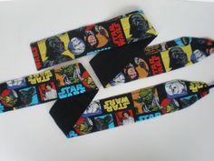 Star Wars crossfit wrist wraps by HauteMessThreads on Etsy,