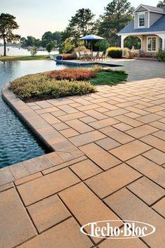 Make a big impact with Royale slabs.