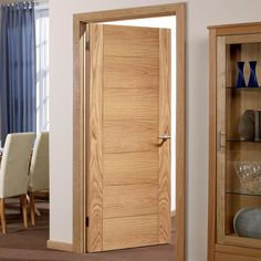 All of our Internal Flush Fire Doors meet strict safety specifications for the wellbeing of you and your family. Interior Door Styles, Door Design Interior, Wooden Window Design, Flush Door Design, Doors And Floors, Flush Doors, Bedroom Closet Design, Fire Doors, Room Doors