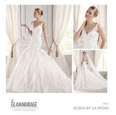 Modelo Eliska by La Sposa. www.leglammariage.com