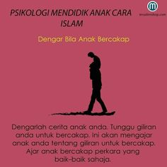 Dengar bila anak bercakap Parenting Quotes, Kids And Parenting, Parenting Hacks, Social Skills For Kids, Aesthetic Words, Psychology Quotes, Self Reminder, Quotes For Kids, Kids Education