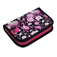 Školní penál CHI 690 A - Black Zip Around Wallet, Bags, Handbags, Bag, Totes, Hand Bags