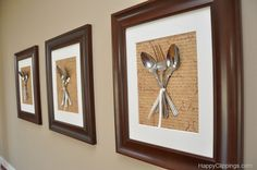 Silverware Wall Art - Interesting Concept for the Creative Mind