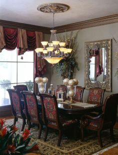 1000 images about burgundy decor on pinterest burgundy for Burgundy dining room ideas