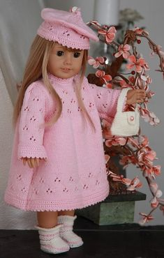 Knitting patterns for dolls | Knitting patterns doll | Doll knitting patterns www.doll-knitting-patterns.com